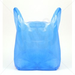 "CARRIER BAGS BLUE 23"" (1,000)"