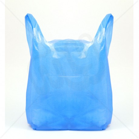 """CARRIER BAGS BLUE 23"""" (1,000)"""
