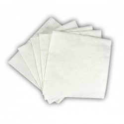 NAPKINS WHITE 1PLY (4,500P/C)