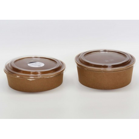 Round Compostable Bowls