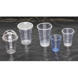 Various Sizes of Plastic drinks cups