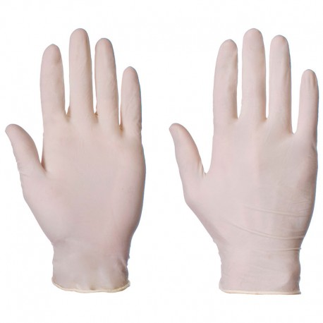 LATEX GLOVES NON POWDERED