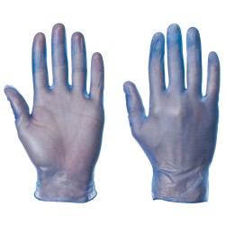 VINYL GLOVES POWDERED