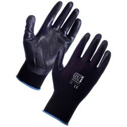 LAMBAY BLACK WORK GLOVES (120)