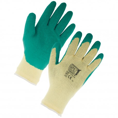 GREEN GRIPSTER GLOVES (12 PACK)